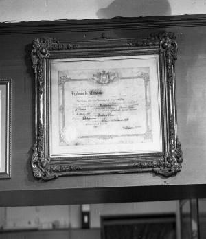 Abello, diploma, 1998 © Regione Piemonte