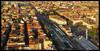 Panoramica della stazione di Porta Susa dal futuro grattacielo Intesa Sanpaolo. Fotografia di Michele D'Ottavio, 2009. © MuseoTorino