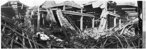 Via Cigna 115. Stabilimento FIAT, Sezione Ind. Metallurgiche (S.I.M.A.). Effetti prodotti dai bombardamenti dell'incursione aerea del 29-30 novembre 1942. UPA 2453D_9F02-23. © Archivio Storico della Città di Torino