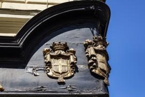 Ex Rocca 1794, particolare insegna d'angolo, 2017 © Archivio Storico della Città di Torino