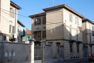 La palazzina di via Foroni 6. Fotografia di Giuseppe Beraudo, 2011.
