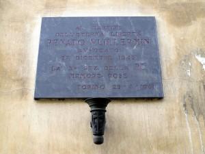 Lapide dedicata a Vuillermin Renato (1896 - 1943)