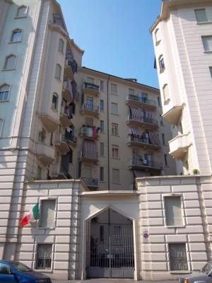 Contardo Bonicelli, Case Bocca e Comoglio, 1929. Particolare di un cancello. Fotografia L&M, 2011