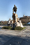 Odoardo Tabacchi, Monumento a Giuseppe Garibaldi (2), 1887. Fotografia di Mattia Boero, 2010. © MuseoTorino.