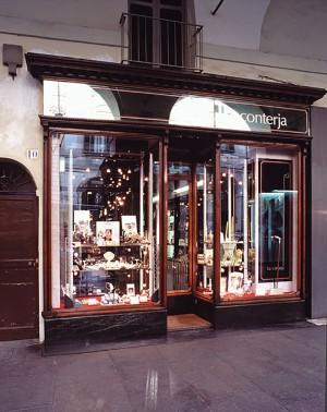 Gioielleria La Conterja, vista dell'esterno, Fotografia di Marco Corongi, 2005 ©Politecnico di Torino