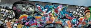 BOC crew, murale senza titolo, 2013, via Trecate
