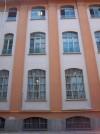 Pietro Fenoglio, Ex fabbrica Boero, 1905. Particolare delle finestre. Fotografia L&M, 2011.