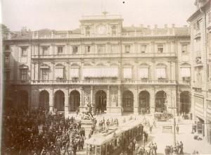 Palazzo di Città. Fotografia di Mario Gabinio, 12 settembre 1925. © Fondazione Torino Musei