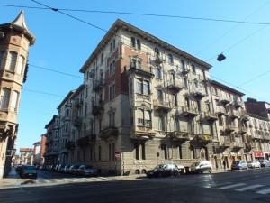 Via Cibrario 58 angolo via Goffredo Casalis. Fotografia di Paola Boccalatte, 2014. © MuseoTorino
