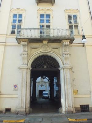 Palazzo Coardi di Carpeneto in via Maria Vittoria 26, portale. Fotografia di Paola Boccalatte, 2014. © MuseoTorino