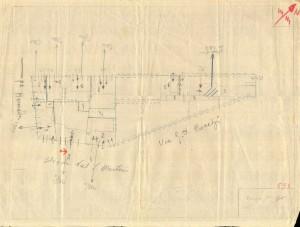 Bombardamenti aerei. Censimento edifici danneggiati o distrutti. ASCT Fondo danni di guerra inv. 593 cart. 12 fasc. 23. © Archivio Storico della Città di Torino