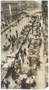 Mercato in via Dante Di Nanni, foto Ghidoni, 1958 © Archivio Storico della Città di Torino (ASCT, Fototeca, GDP sez I 1425C_008)