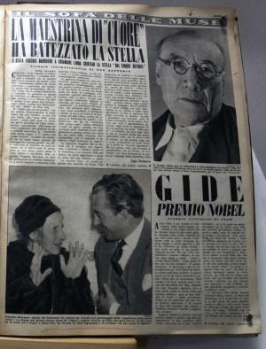 Una vetrina della mostra ''Torino e le donne'' - Sezione: Letture al femminile
