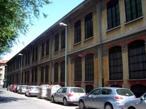 Ex Opificio Venchi – Ex Opificio Militare, fabbricato da via Farini a corso Belgio. Fotografia di Silvia Bertelli.