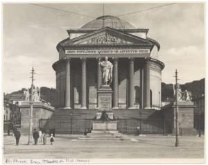 Chiesa della Gran Madre di Dio. Fotografia di Giancarlo Dall'Armi. © Archivio Storico della Città di Torino