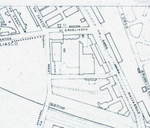 Cascina Morozzo. Istituto Geografico Militare, Pianta di Torino, 1974. © Archivio Storico della Città di Torino