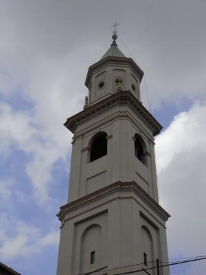 Istituto Sacra Famiglia. Campanile della chiesa dell'Immacolata Concezione. Fotografia L&M, 2011.