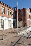 La sede della Circoscrizione 5 (particolare). Fotografia di Mauro Raffini, 2010. © MuseoTorino.