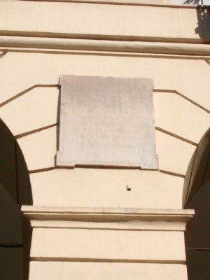 Lapide Luigi Cibrario