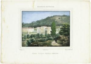 Veduta di Villa della Regina. Litografia di D. Festa, 1833. © Archivio Storico della Città di Torino