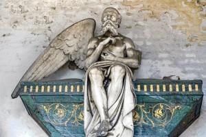 25 AIII Giuseppe Dini (1820-1890), Tomba Chiesa (Arcata 224), particolare. Fotografia di Roberto Cortese, 2018