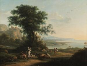 Vittorio Amedeo Cignaroli (1730-1800), Scena pastorale, 1750-1800. Torino, Fondazione Accorsi