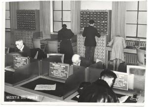 Corso per bibliotecari, anni Trenta del Novecento. Biblioteca civica Centrale © Biblioteche civiche torinesi