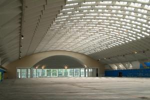 L'interno di Torino Esposizioni. Fotografia di Fabrizia Di Rovasenda, 2010. © MuseoTorino.