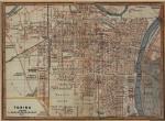 Pianta topografica della città di Torino, 1878 circa