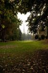 Scorcio dei Giardini Reali (sullo sfondo la Mole Antonelliana). Fotografia di Roberto Goffi, 2010. © MuseoTorino-Soprintendenza per i Beni Architettonici e Paesaggistici del Piemonte.