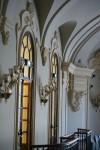 Galleria della sala concerti del Conservatorio Giuseppe Verdi. Fotografia di Edoardo Vigo, 2012