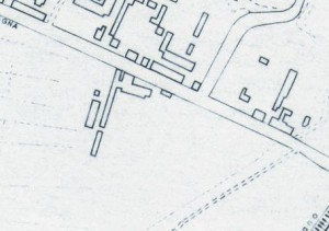 Cascina Bassa di Stura, già La Modesta. Istituto Geografico Militare, Pianta di Torino, 1974, © Archivio Storico della Città di Torino
