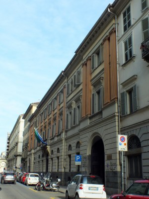 Liceo Artistico Liceo Musicale Istituto d'Arte Passoni, Via Della Rocca 7. Fotografia di Paola Boccalatte, 2014. © MuseoTorino