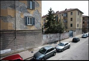 Veduta di alcuni caseggiati del Quartiere M1. Fotografia di Michele D'Ottavio, 2011. © MuseoTorino