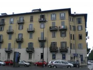 Veduta del quartiere, via Lancia angolo corso Trapani. Fotografia di Maria D'Amuri, 2011