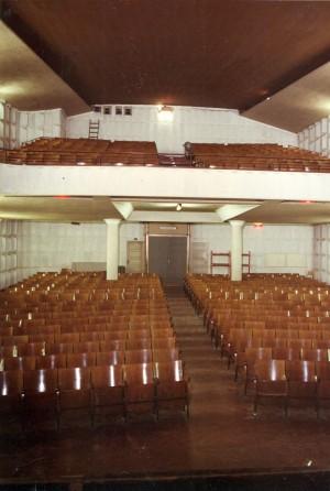 La sala negli anni Ottanta. Archivio Oratorio Michele Rua