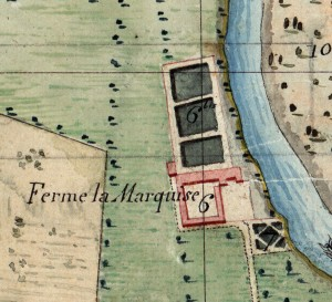 Cascina Marchesa. Catasto Napoleonico, 1805. © Archivio di Stato di Torino