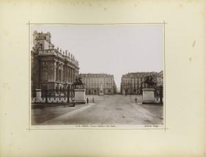 Veduta di piazza Castello e piazzetta Reale. Fotografia Brogi. © Archivio Storico della Città di Torino