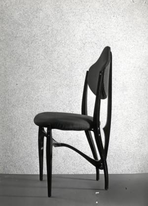 Gabetti e Isola - designer, Sedia per la Borsa Valori, Torino, 1952, produzione Colli, Fotografia di Moncalvo (Archivio Gabetti&Isola, Studio Isola, Torino)