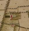 Cascina Amoretti. Carta Topografica della Caccia, 1760-1766 circa. © Archivio di Stato di Torino