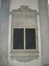 Lapide dedicata ai Fiorentini caduti nella Prima guerra di indipendenza. Fotografia di Elena Francisetti, 2010. © MuseoTorino