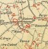 Cascina Biasone. Istituto Geografico Militare, Pianta di Torino e dintorni, 1911. © Archivio Storico della Città di Torino