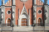Giovanni Battista Ferrante, Chiesa di Santa Giulia (particolare facciata), 1862-1866. Fotografia di Fabrizia Di Rovasenda, 2010. © MuseoTorino.