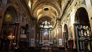 Interno della chiesa di San Francesco da Paola. Fotografia diPaolo Mussat Sartor e Paolo Pellion di Persano, 2010. © MuseoTorino