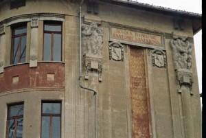 Elementi decorativi Liberty. Scuola elementare Santorre di Santarosa. © Catalogo Beni Culturali Architettonici, Città di Torino. MIBAC