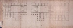 Filippo Juvarra, Planimetria generale di progetto per i Quartieri Militari, 1716. Archivio Storico della Città di Torino, Tipi e disegni. © Archivio Storico della Città di Torino
