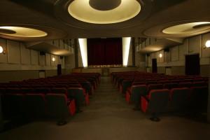La sala dopo la ristrutturazione del 1994. Archivio Oratorio Michele Rua