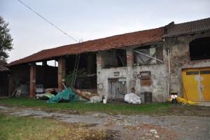 Interno della cascina Berlia. Fotografia di Ilenia Zappavigna, 2012.