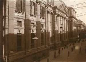 Palazzo dei Supremi magistrati. Fotografia di Mario Gabinio, 1925 ca. © Fondazione Torino Musei - Archivio fotografico