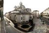 Veduta della torre angolare romana e del santuario della Consolata. Fotografia di Paolo Gonella, 2010. © MuseoTorino